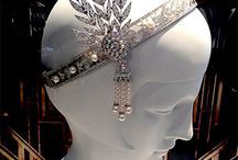 1920's costume / styling / 1920s fashion, costume, 1920' hair, jewellery, inspiration