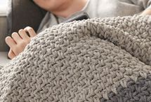 Knitted and crotchet blankets