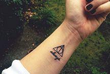 Tatuaże z motywami z harrego pottera