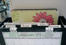 Counter/mail/paper Organization / by Ashley Vinyard