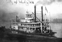 Steamboats / Vintage Steamboats / by Fred Taylor