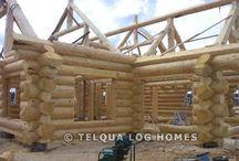 Log Homes / Love log homes