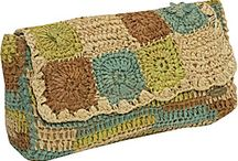 bag, clutch crochet