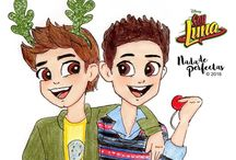 The boys from Soy luna