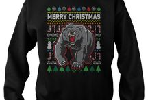 * Wildlife Ugly Christmas Sweater Gifts / Wildlife Ugly Christmas Sweater Gifts - If you love wildlife these beautiful items might be perfect for you. Merry Christmas hoodies, t-shirts, tanks and sweatshirts are available for men and women. Plus many other fun items.