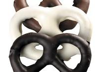 Chocolate covered snacks