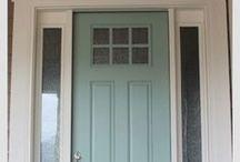 Tardis blue front door color