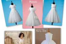 Best Selling First Communion Dresses / Sneak Peek at our 5 top selling Communion dresses for 2014  We have been so busy with pre orders for our 2014 Communion Dresses – we have sold out of some sizes in certain Communion dress styles for our Communion dresses due in stock in December, but don't worry we still have plently of beautiful Communion dresses in a range of sizes starting to arrive daily