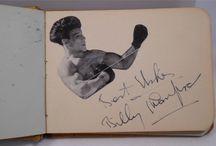 Boxing Autographs