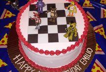 Elijahs 8th birthday cake ideas