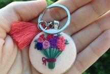çiçek kolye