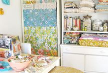 Craft room - in my dreams!