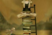 """Books, readers, Art  & books... /  """"Livro - realidade e arte"""": http://livros-narealidadeenaarte.blogspot.com.br/ / by Selmah"""