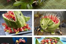 creative with food