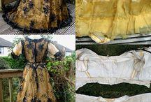 Women's antique pattern
