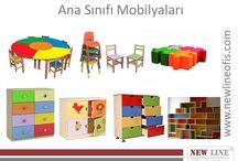 Ana Sinifi Mobilyalari / www.newlineofis.com