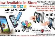 iCrackRepair.com / Experienced repair of cellular phones, tablets, laptops, desktops, navigation, and most other electronic devices. We can fix the touchscreen, LCD, DC charging port, keyboards, mouse pads, viruses, hard drives, memory, software problems, etc. The well known types are iPhone, iPad, iPod, Kindle, Samsung, HTC, Motorola, TomTom, Garmin, Mac, Dell, Panasonic, IBM, Toshiba, Sony, Nook, and almost every other brand or model on the market. We also specialize in repairing liquid damage.