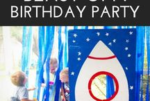 Space Party Ideas / Astronaut party. Outer space party. Alien party. UFO party. NASA party.