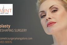 Cosmetic Surgery / Cosmetic plastic surgery includes surgical and nonsurgical procedures that reshape normal structures of the body in order to improve appearance and self-esteem. Healthy individuals with a positive outlook and realistic expectations
