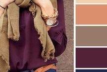 combinación de colores para vestir