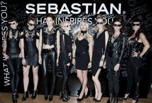 PROFESSIONAL SEBASTIAN HAIR PRODUCTS RUNWAY SHOW / CUSTOM PIECES ON THE RUNWAY by Forgotten Saints La