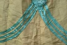Dress Trim / Trim ideas for mid 19th century dresses