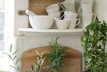 Home: Kitchen Shelves / Open shelving adds a different look and concept to the Everyday Kitchen.