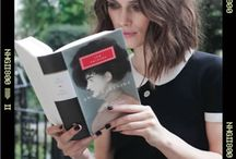 Celebrities reading / by Kieran Kramer