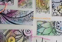 Doodles and Zentangles / by Emily Gresham Grabiec