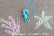 Crochet Dolls, Toys, Stuffed Animals