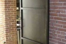 iron door office