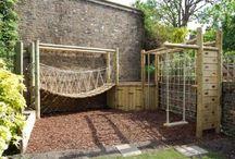 Wonderland for the kids / Garden playground