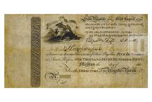 Bank of Madras - Madras Presidency Notes / Very rare early notes of Bank of Madras