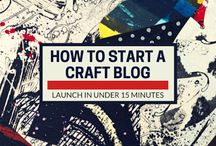 Blogging: Setting Up a Crafts Blog / Want to start a crafting blog? You can under 15 minutes!