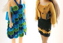 Crochet Barby Clothes