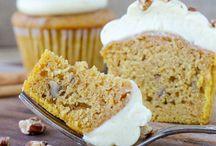 Süße Muffins und Cupcakes