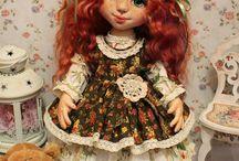 Текстильные куколки (моя ручная работа)