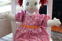 dolls of all kinds and the like