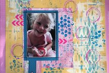 My Scrapbook pages