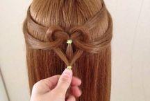 peinados varios / esto es para personas con lindo cabello y se aman peinar o verse en el espejo