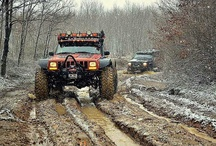 Jeeps, mostly xj's / by Michael Murray