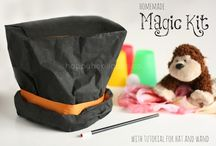 Magical Moments / Activities and projects for the teeny Houdini's.