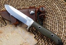 Vehement Knives mid size fixed blades / Here's a collection of knives meant for everything you need and nothing you don't!