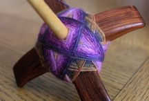 Spinning, Handspun, and Drop Spindles / Spinning, drop spindles, fiber, and handspun