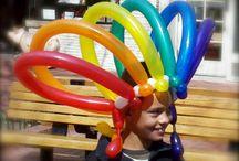 Rainbow Hat Paper