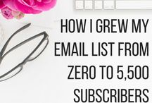 Grow your Email List / Create optin offers and content upgrades that make your ideal clients drool. email marketing, content marketing, small business, business tools, mailchimp, optin freebie, entrepreneur, blogging tips, mailerlite, convertkit, infusionsoft, email list