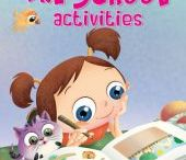 Children's Activity Books / Children's learn with different types of activities