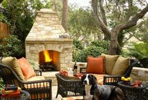Outdoor Spaces / Inspiration for outdoor spaces with homes
