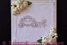 Wedding day cards / Made by us at Stardust Wishes