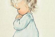 baby gemalt
